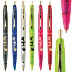 BIC® Clear Clics Gold Pen