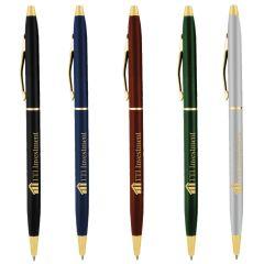Cooper Deluxe Metal Pen w/Gold Trim