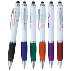 Ion White Branded Stylus Pen