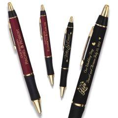 The Barton Wedding Pen  - Gold Trim