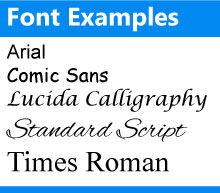 font-personalization-examples